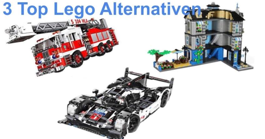 Drei Lego Alternativen – diese Klemmbaustein Sets können überzeugen