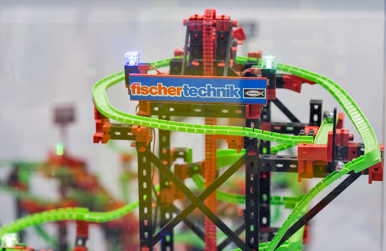Fischertechnik Kugelbahn