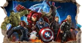 Wandtattoo Avengers